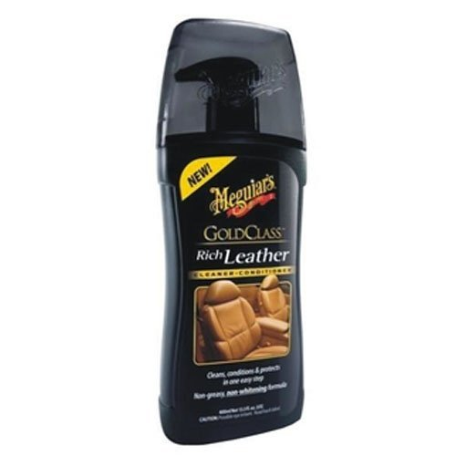 Meguiars Gold Class Rich Leather, Leder Reiniger, 400ml