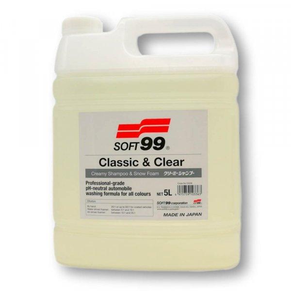 SOFT99 Classic & Clear Shampoo, 5L