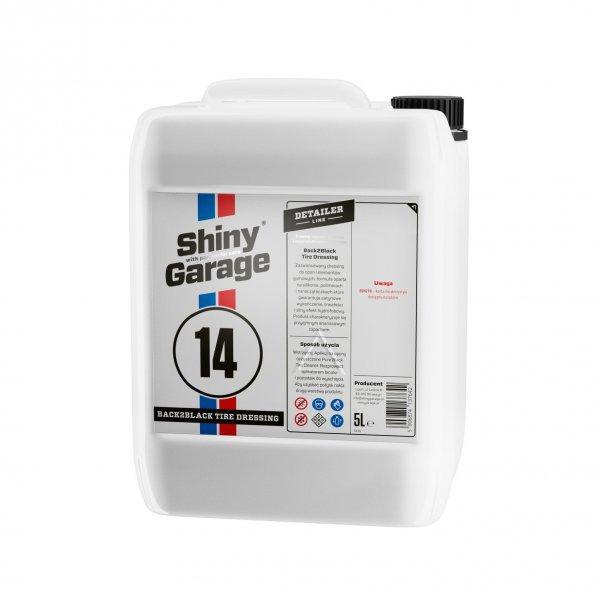 Shiny Garage Back2Black Reifen-Dressing, 5L